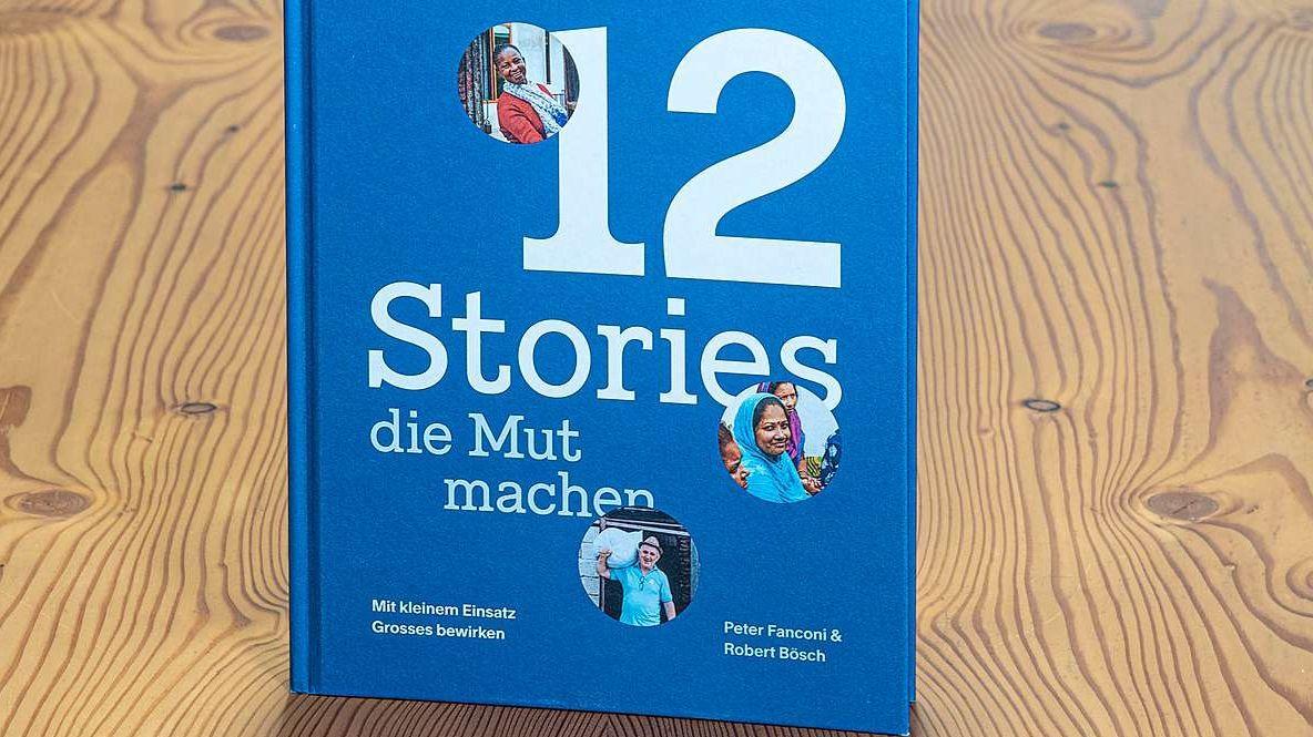 Die Personen, die direkt betroffen sind, erzählen im Bildband «12 Stories, die Mut machen» wie sie Kleinunternehmer geworden sind. Foto: Daniel Zaugg