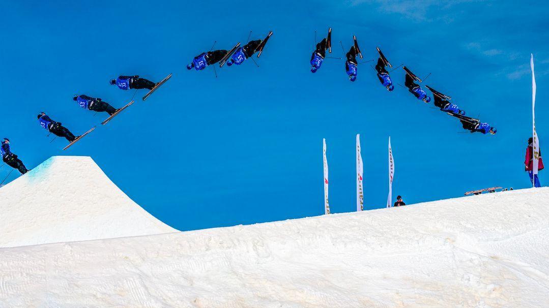 Am Samstag fand der Freeski-Weltcup auf dem Corvatsch statt, am Sonntag folgten der Snowboard-Weltcup. Foto: Fotoswiss / Giancarlo Cattaneo
