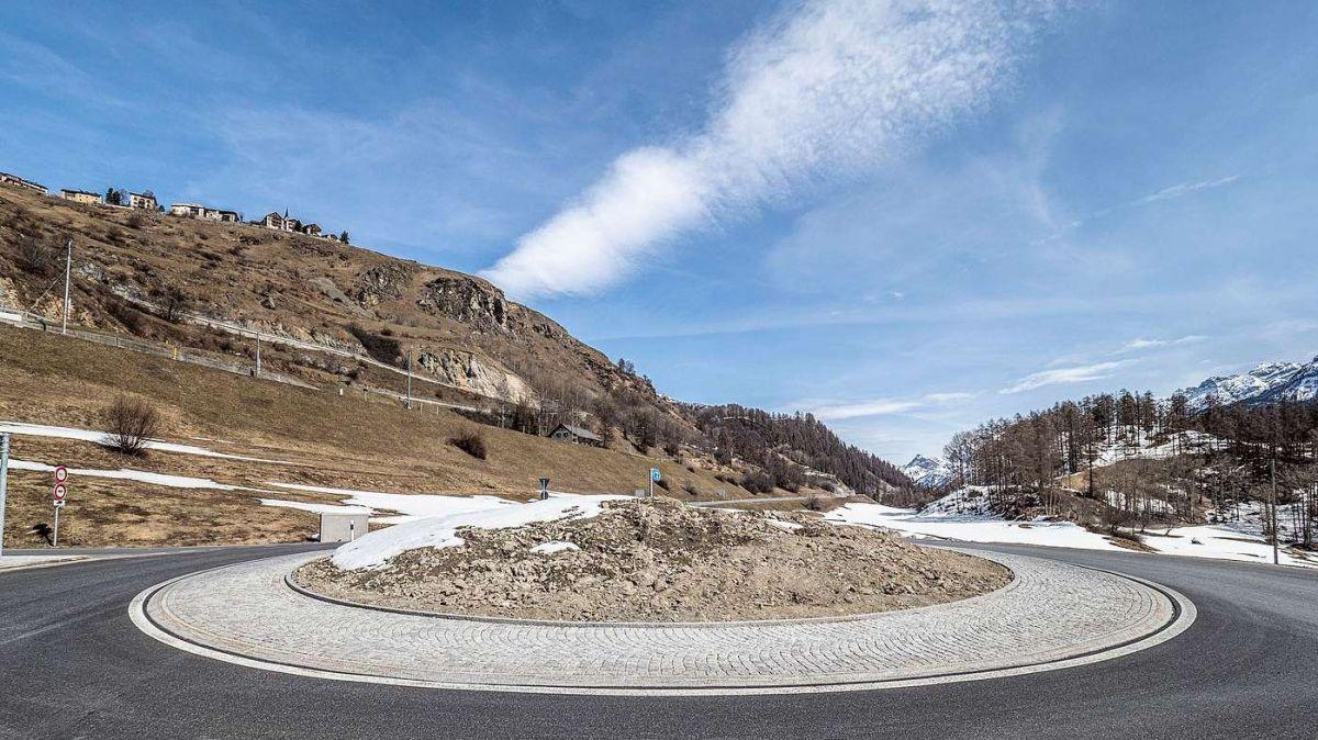 Quista fotografia actuala da la rondella da Giarsun  es statta la basa pel stincal dals prüms avrigl (fotografia: Daniel Zaugg).