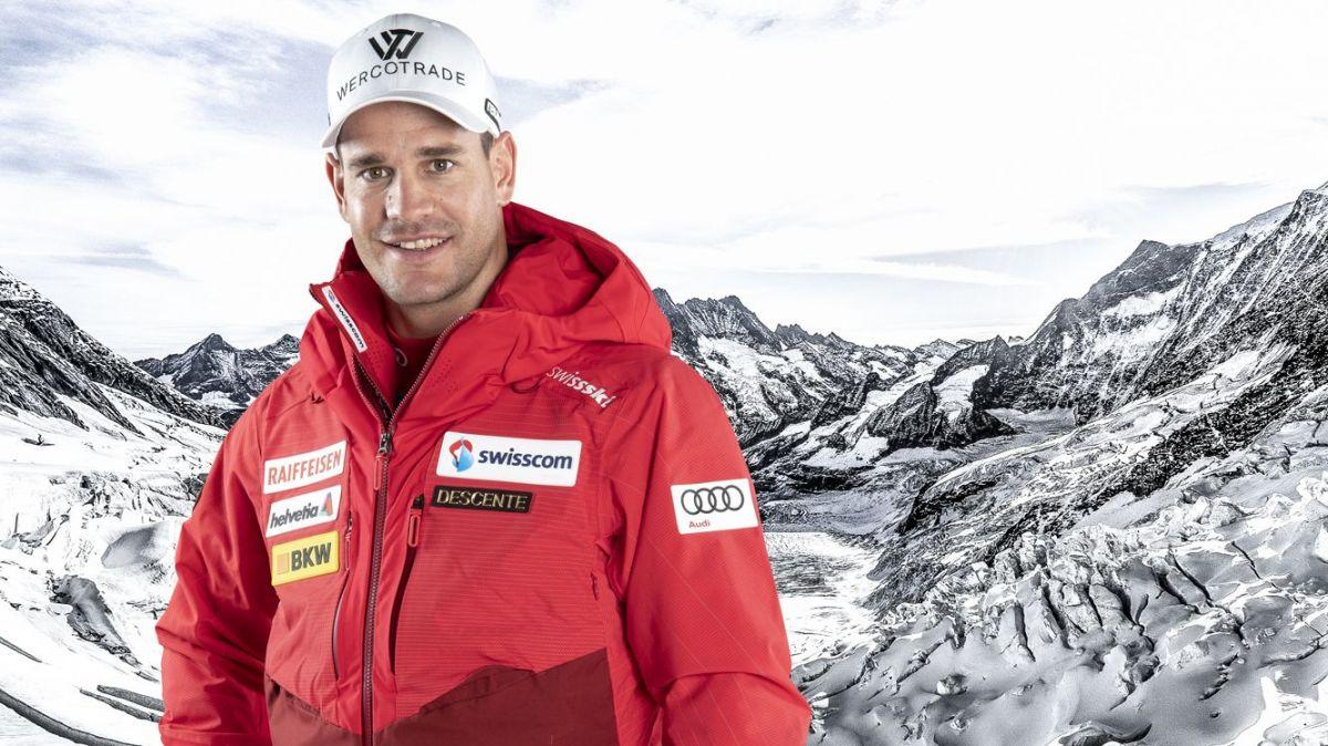 Skifahrer Thomas Tumler ist auch dieses Jahr in der Nationalmannschaft. Foto: Swiss Ski
