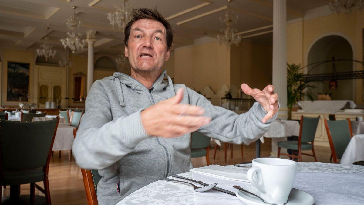 Der Restaurantkritiker Daniel Bumann verstummt - zumindest im TV. Er beendet seine Karriere vor der Kamera. Foto: Annika Veclani