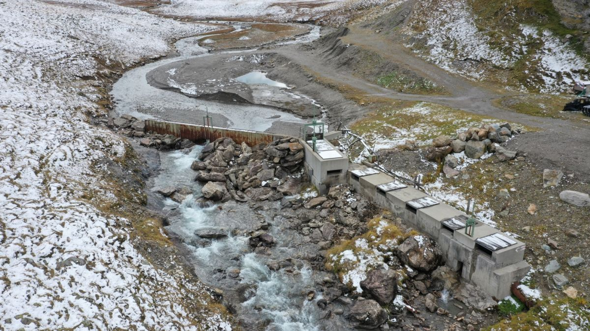 La cuntrada da palü Val Fenga po gnir revitalisada (fotografia: Arinas AG).