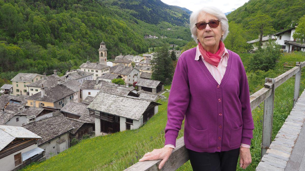Mengia Spreiter hat als Gemeindepräsidentin das Bergeller Grenzdorf Castsegna mitgeprägt.