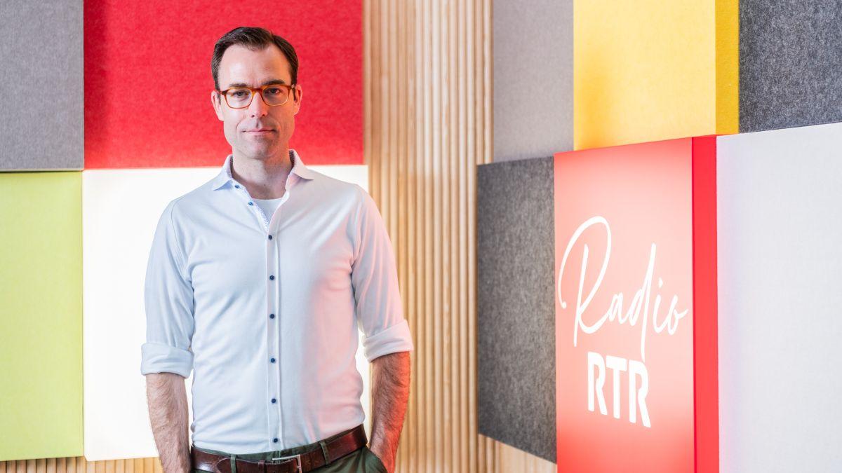 Nicolas Pernet es tuornà in terra rumantscha sco directer da RTR (fotografia: RTR).