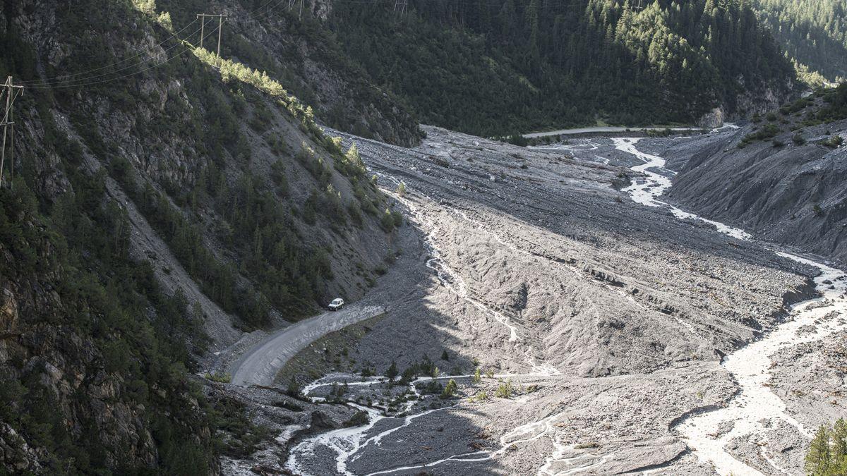 Il privel da boudas in Val S-charl es grond. Cun ün nouv sistem d'alarmaziun automatic survain il cumün da Scuol daplü temp per reagir (fotografia: Mayk Wendt).