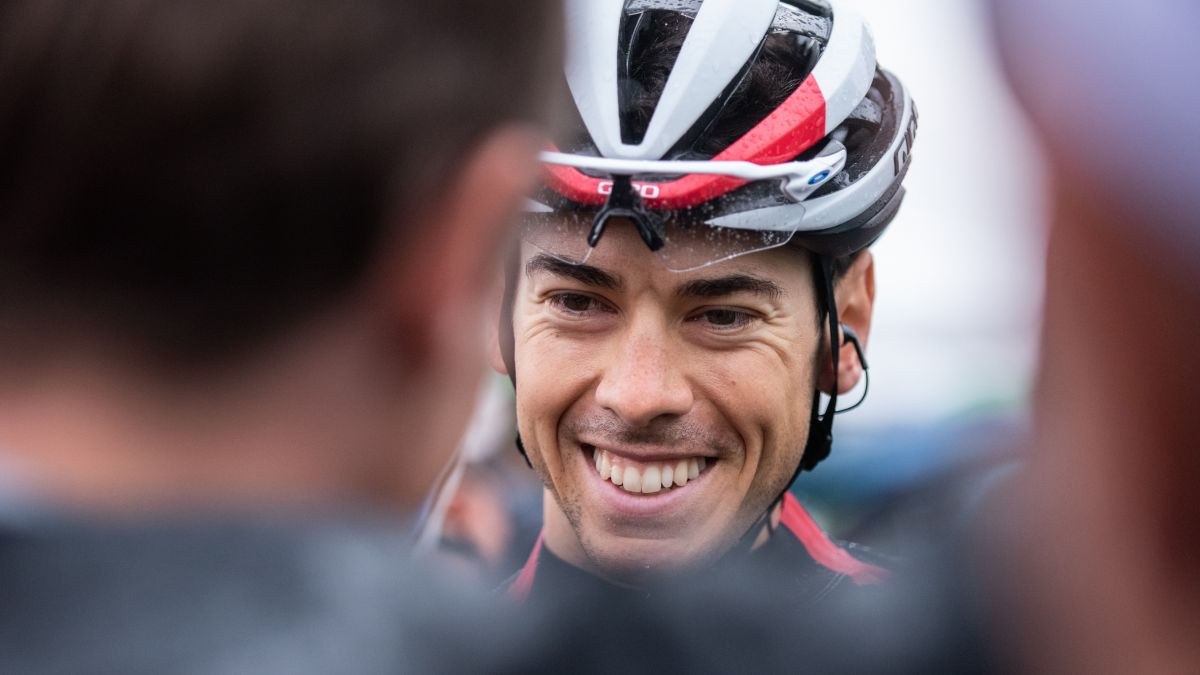 Der 28-jährige Matteo Badilatti aus dem Puschlav hat den diesjährigen Giro d'Italia als bester Schweizer beendet. Foto: z. Vfg
