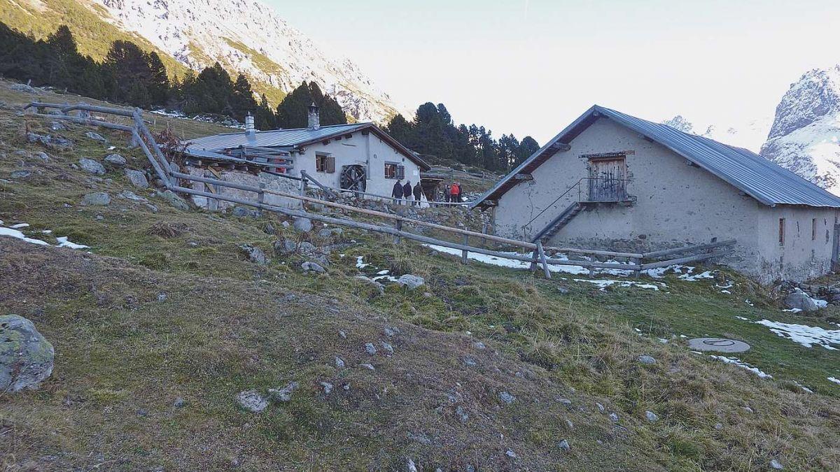 Alp Sprella illa Val Mora, üna val laterala da la Val Müstair. fotografia: mad