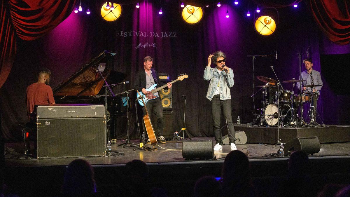 Eine Super Stimme, ein Super Sound: Mit José James startete das diesjährige Festival da Jazz. Es bietet viele Live Music Acts bis zum 1. August. Foto: fotoswiss.com/cattaneo
