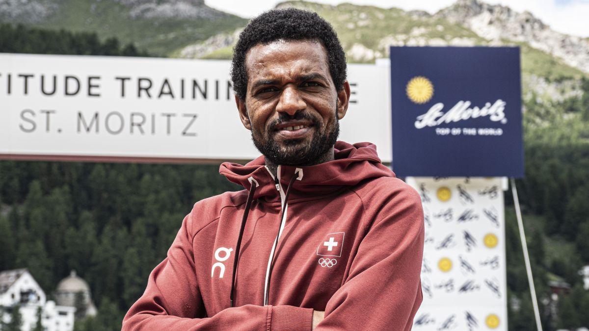 Tadesse Abraham ist derzeit in St.Moritz und bereitet sich mit seinen Teamkollegen auf die Olympischen Spiele vor. Foto: Denise Kley