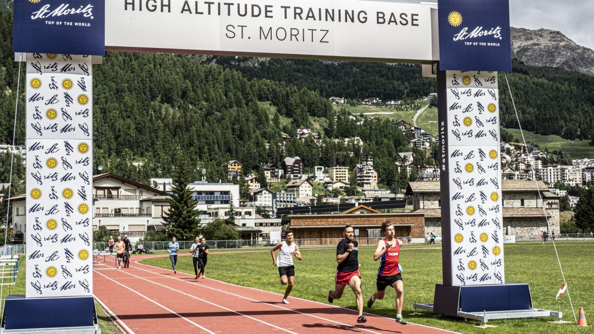 Der Spitzensport trifft sich zur Olympia-Vorbereitung in St. Moritz. Foto: Denise Kley