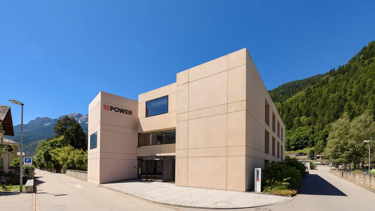 Hauptsitz der Repower in Poschiavo. Foto: Repower