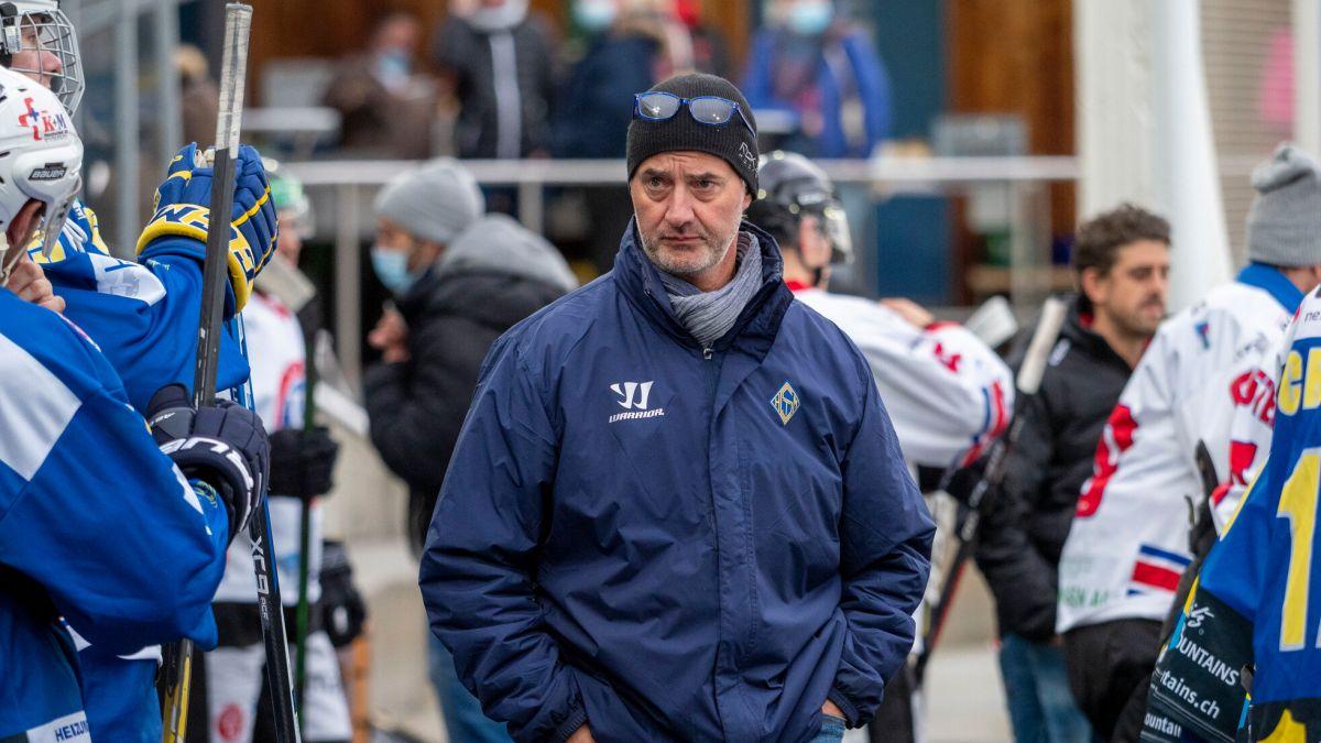 Luigi Riva verlässt den EHC St.Moritz Ende Saison. Foto: Daniel Zaugg