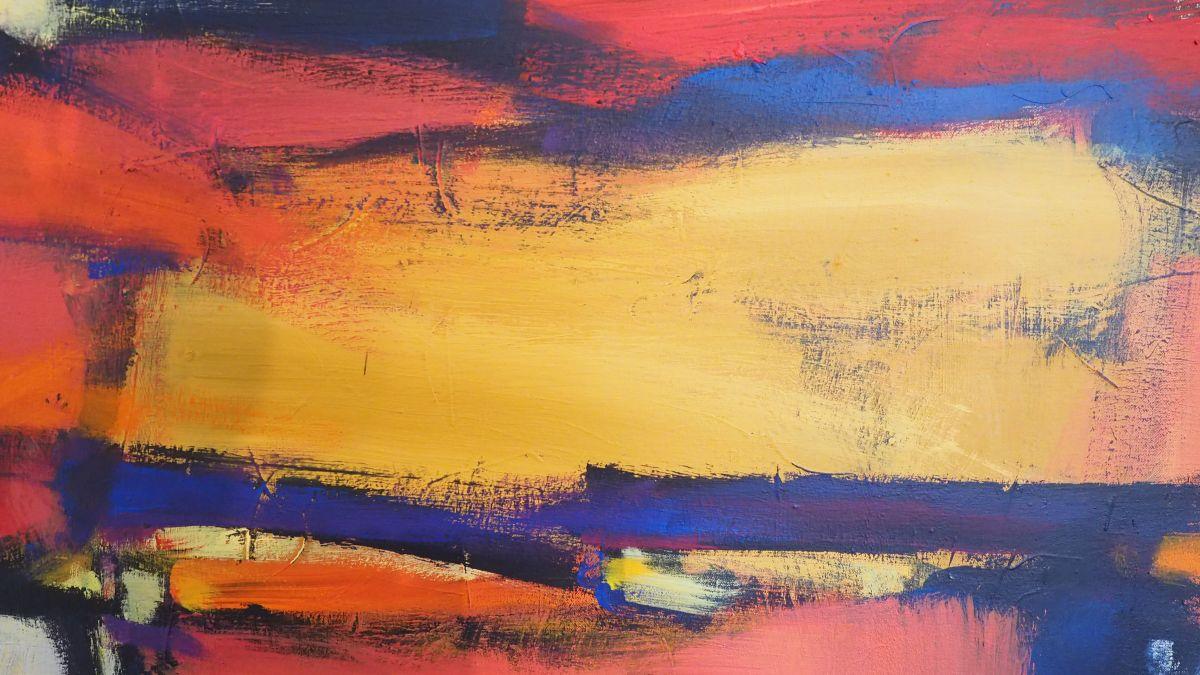 Detail aus einem der ausgestellten Werke. Foto: Marie-Claire Jur