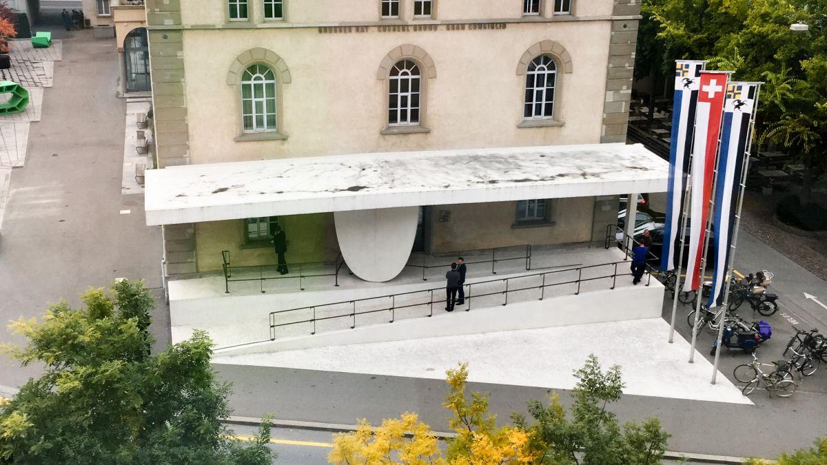 Grossratsgebäude Chur. Archivfoto: Jon Duschletta