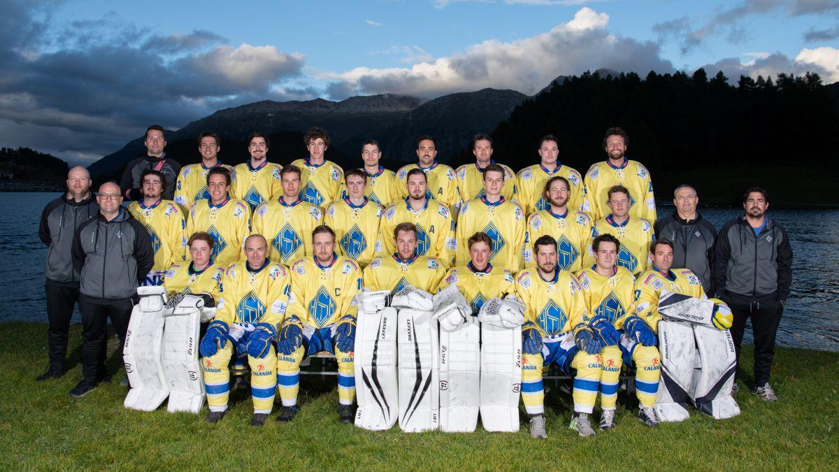 Der EHC St.Moritz Ausgabe 2021/22: Foto: Arnaud Delalande/Foto Rutz