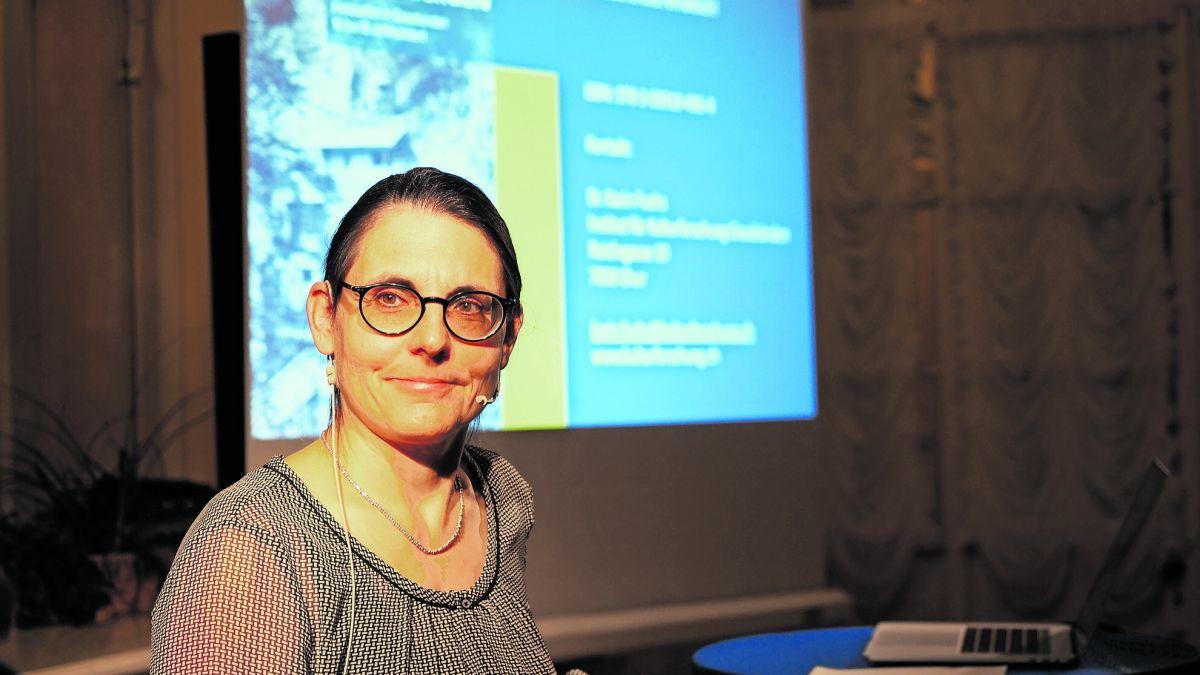 Historikerin und Buchautorin Karin Fuchs   Foto: Marie-Claire Jur