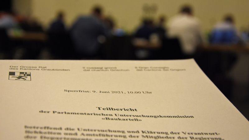 Der Grosse Rat hat den PUK-Bericht zur Kenntnis genommen (Foto: Nicolo Bass)