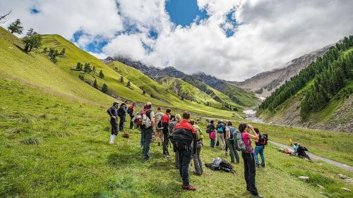 Il Parc Naziunal Svizzer ha gnü la stagiun passada 50 pertschient daplü giasts (fotografia: Hans Lozza/PNS)