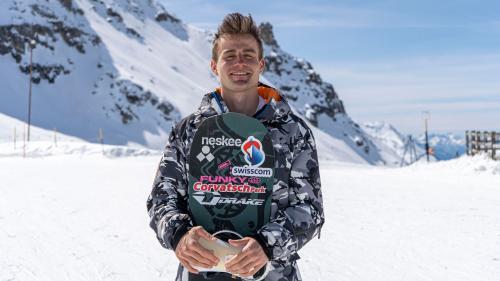 Am Sonntag finden die Qualifikation und das Finale im Slopestyle statt. Nicolas Huber möchte seinen Heimvorteil nutzen und hofft auf einen Podestplatz. Foto: Denise Kley