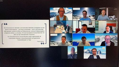 Referenten des Meeting Points zum TFA: Print-Screen: Jon Duschletta