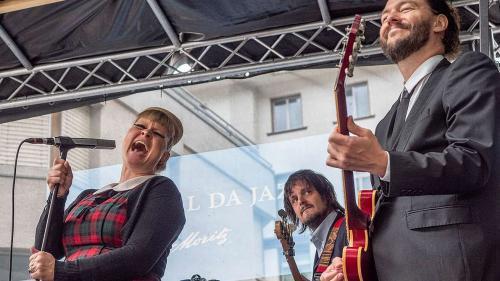 Der Festivalsommer 2021 wird bis jetzt vor allem von Absagen geprägt. Nicht so das Festival da Jazz, dieses wird stattfinden. Foto: Daniel Zaugg