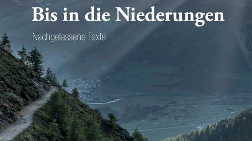 Texts d'inscunters ed impissamaints da Curdin Melcher (fotografia: Antium Verlag).