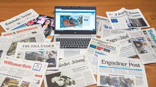 Auch wenn nicht alle politischen Kräfte die vorgeschlagenen Massnahmen gleichermassen befürworten ist die aktuelle Diskussion zum vorliegenden Medienförderungspaket positiv. Foto: Daniel Zaugg