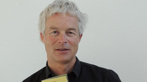 Ernst Bromeis ha fat impissamaints davart il dret dad aua per minchün (fotografia: Benedict Stecher).
