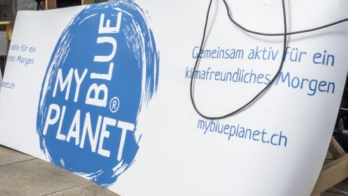 Hinter der KlimaRally steht die Klimaschutz-Organisation Myblueplanet mit Sitz in Winterthur. Foto: Denise Kley