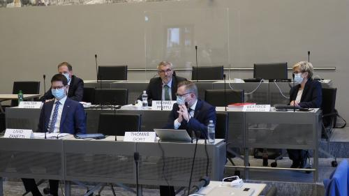 Präsentation des PUK-Berichts in Chur.   Foto: Reto Stifel
