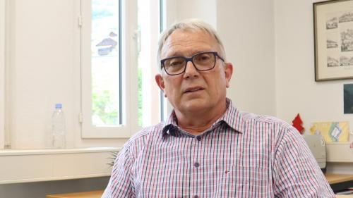 Christian Fanzun, il capo cumünal da Scuol (fotografia: Andri Netzer).