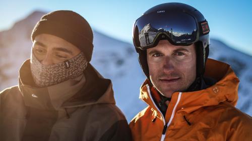 Snook alias Gino Clavuot und Olympiasieger Nevin Galmarini sind seit Jahren befreundet (Foto: Oceana Galmarini).