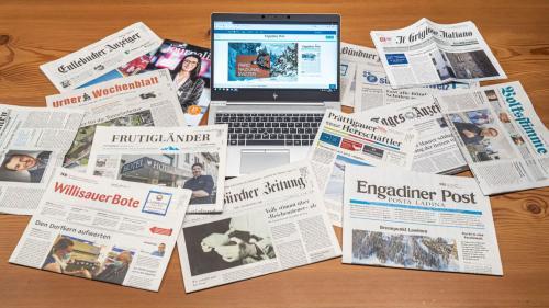Die Medienfördergelder fliessen - wie nun beschlossen wurde. Foto: Daniel Zaugg