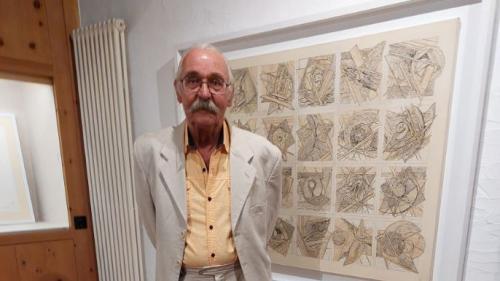 Gaspare Otto Melcher ist einer der Künstler, dessen Werke gerade im Val Müstair zu sehen sind. Foto: Romedi Arquint