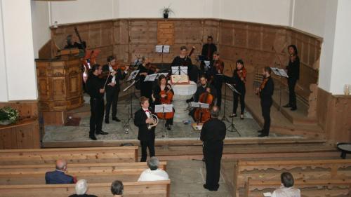 Besonders der Nachwuchsmusiker Simon Gabriel überzeugte beim Konzert des Neuen Züricher Orchesters. Foto: Ester Mottini