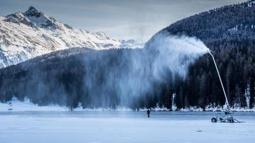 Annatina Poltera wird auch für die Eisarena auf dem St.Moritzersee zuständig sein. Foto: Daniel Zaugg