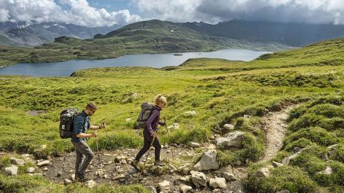 Wandern wird immer beliebter. Das zeigen die neuesten Zahlen aus dem Jahr 2019. Foto: Wanderwege Schweiz