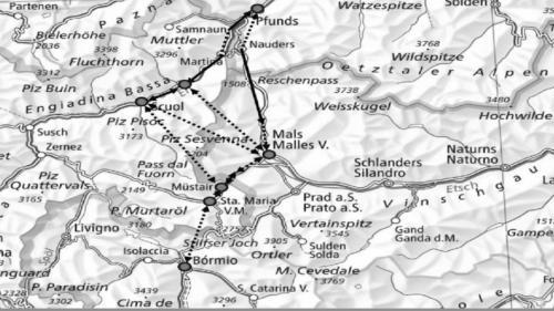 Die Fördergruppen des Alpenbahnkreuz Terra Raetica haben eine gemeinsame Absichtserklärung unterzeichnet (Foto: z. Vfg.)