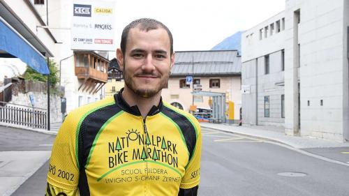 Der Münstertaler Sandro Fliri hat 20 Mal am Nationalpark Bike-Marathon teilgenommen.  Foto: Nicolo Bass
