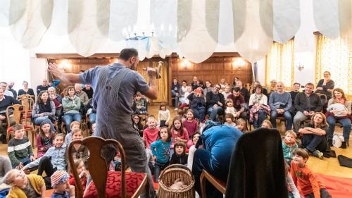 Bestandteil des neuen Herbstfestivals «La Fascinaziun» ist «Klapperlapapp».  Foto: Mattias Nutt