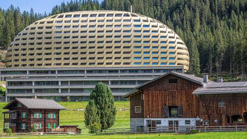 Das Goldene Ei in Davos. Foto: Reto Stifel