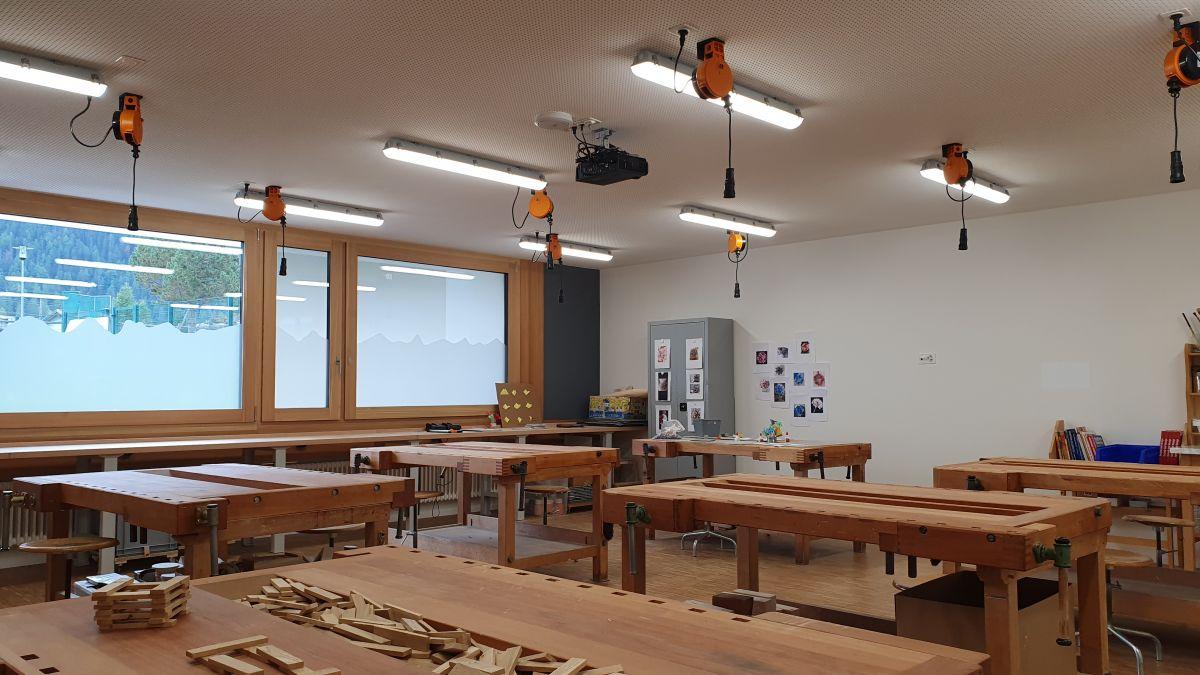 La stanza da zambriar culs indrizs moderns (fotografia: Georg Luzzi/RTR)